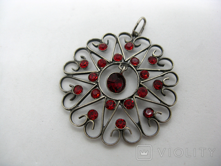 Кулон, серебро 875, звезда, Харьков, фото №2