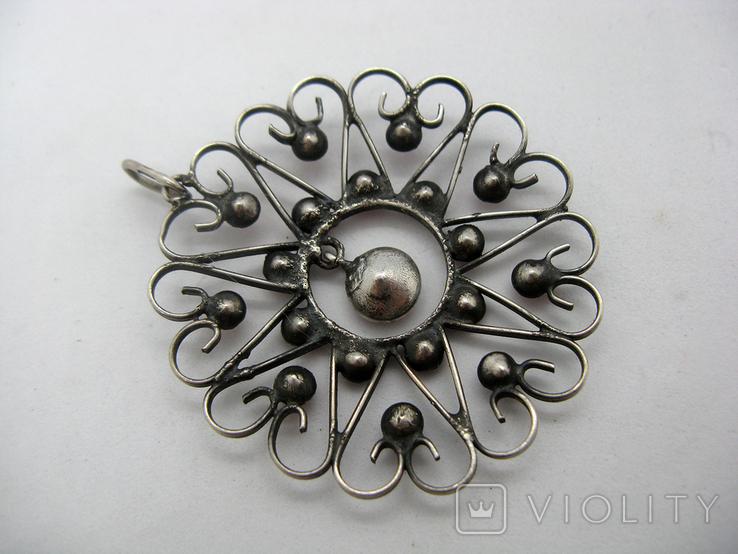 Кулон, серебро 875, звезда, Харьков, фото №6