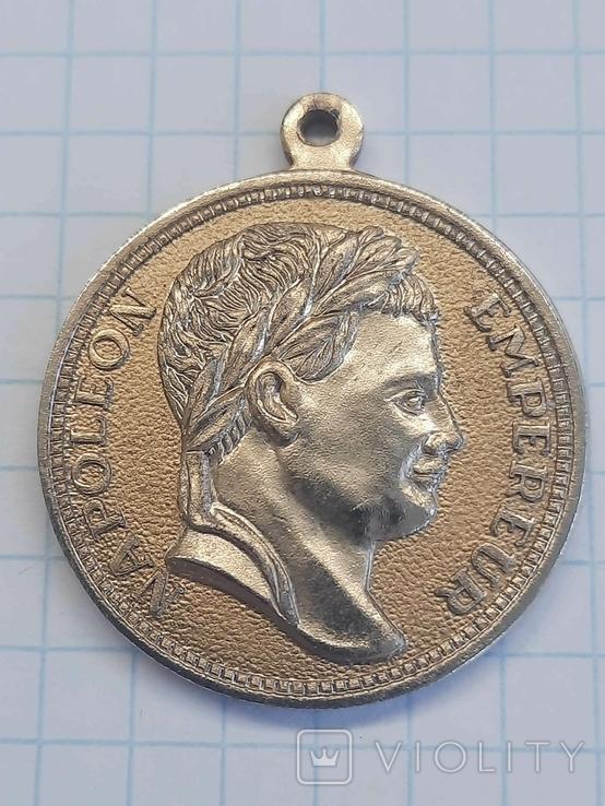 Медаль Наполеон. Копия, фото №2