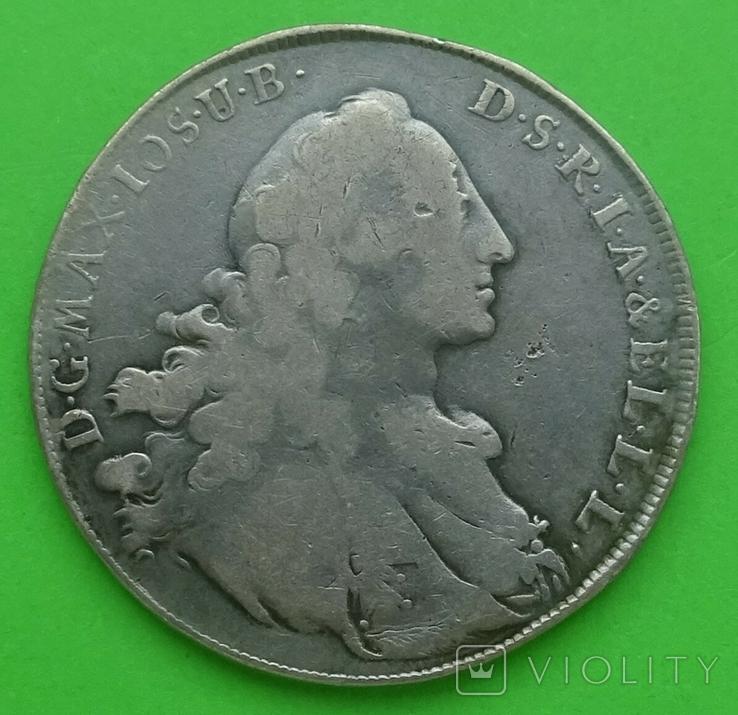 1761 год, Талер, Бавария., фото №3