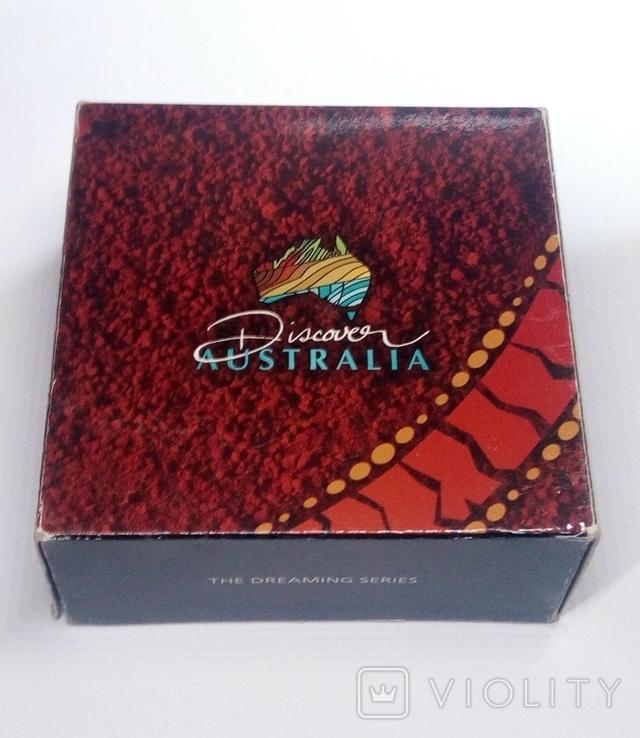 5 долларов Австралии, крокодил из серии Дискавери Австралия, фото №7
