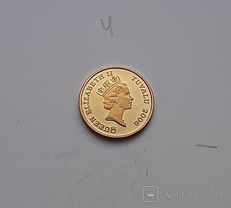 15 доларів Тувалу Кінь 2006 1/10 OZ, фото №5