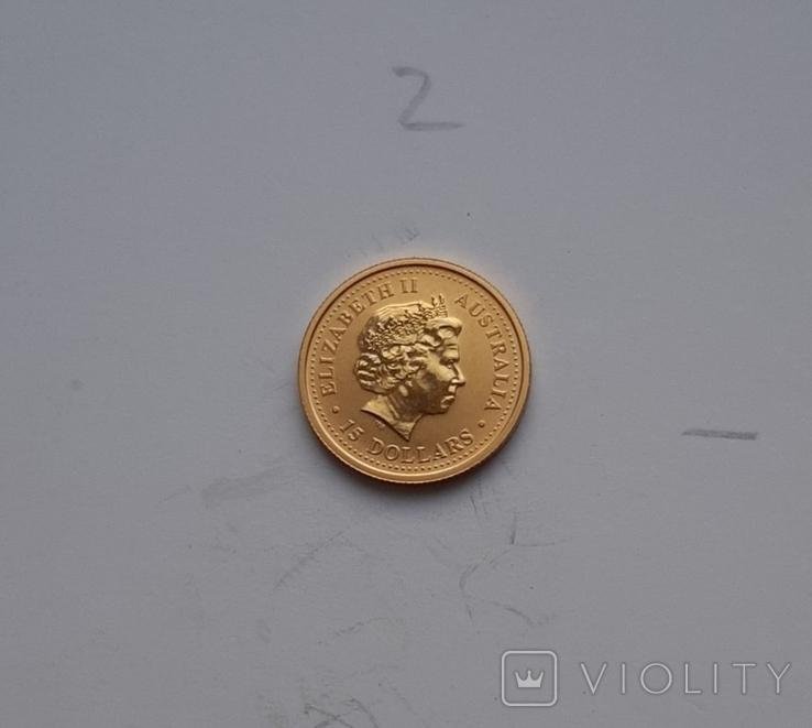 15 доларів Австралія, Рік Кози, Лунар І серії, 2003, фото №4