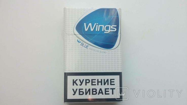 сигареты wings blue купить