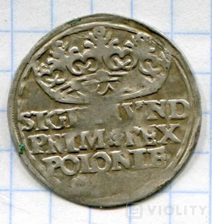 Сігізмунд 1 гріш 1529 рік Польща, фото №3