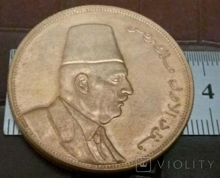 Монета Єгипта - точна копія Золотої /позолота 999/ не магнітна, фото №2