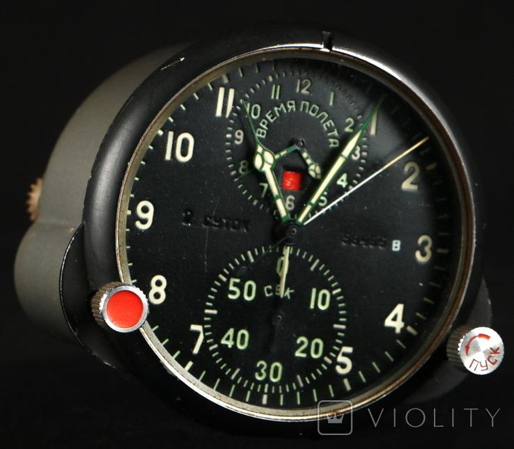 31.65. Часы авиационные АЧС-1