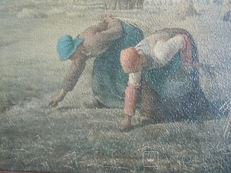 Картина Сенокос графика, фото №5