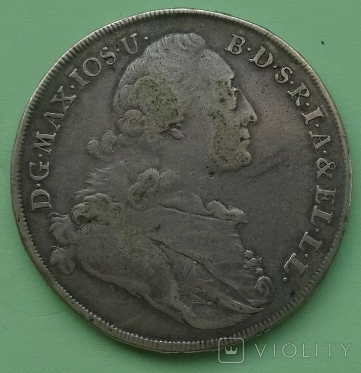 1775 год, Бавария, Талер., фото №2