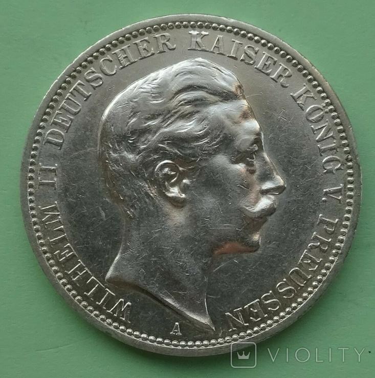 3 марки, 1912 год, Пруссия., фото №2