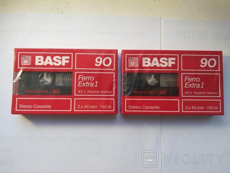 Касеты BASF extra 1 ferro новые в упаковке 2 ШТ, фото №2