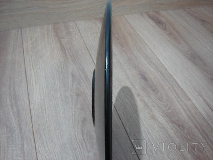 Большая настенная тарелка папье маше. Авторская роспись. Диаметр 30 см., фото №10