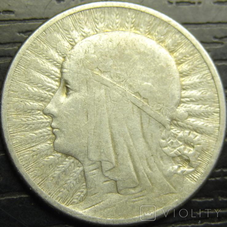 2 злотих 1934 Польща срібло рідкісна, фото №2