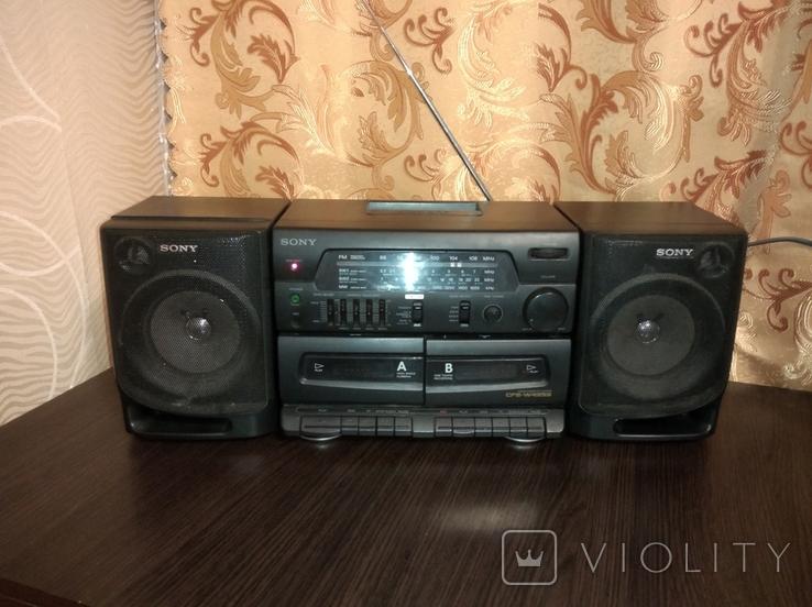 Магнитофон SONY CFS-W435S, фото №2