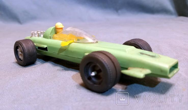 Гоночная Машина СССР Формула 1980е Клеймо  Киевский Завод Игрушек, фото №2