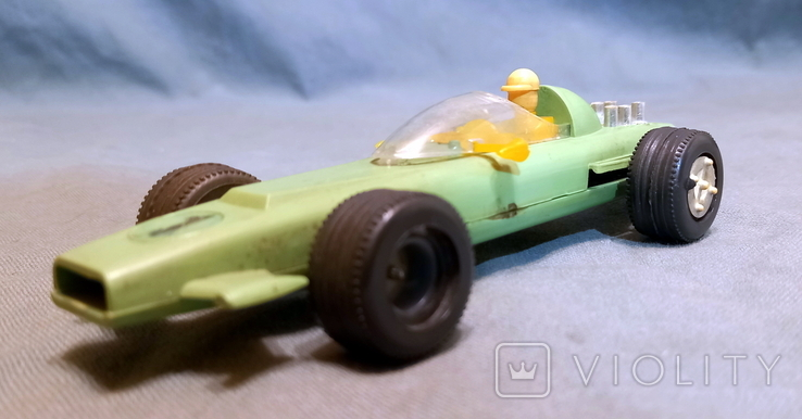 Гоночная Машина СССР Формула 1980е Клеймо  Киевский Завод Игрушек, фото №3