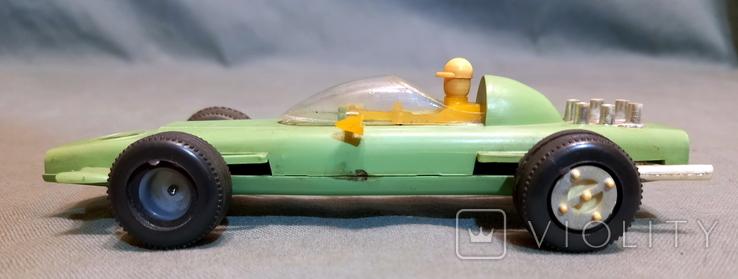 Гоночная Машина СССР Формула 1980е Клеймо  Киевский Завод Игрушек, фото №4