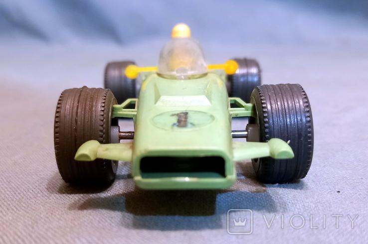 Гоночная Машина СССР Формула 1980е Клеймо  Киевский Завод Игрушек, фото №6