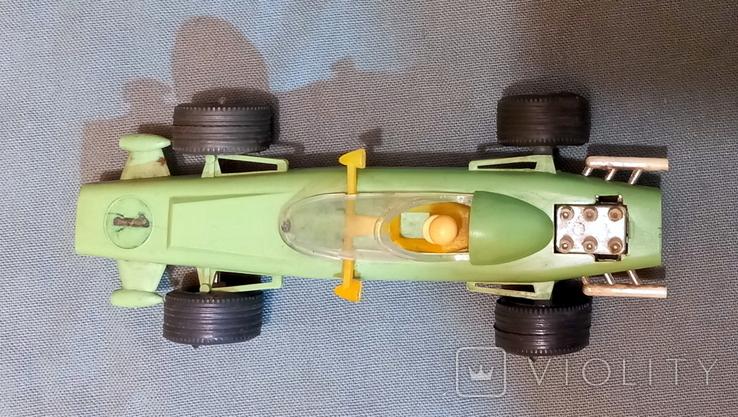 Гоночная Машина СССР Формула 1980е Клеймо  Киевский Завод Игрушек, фото №8