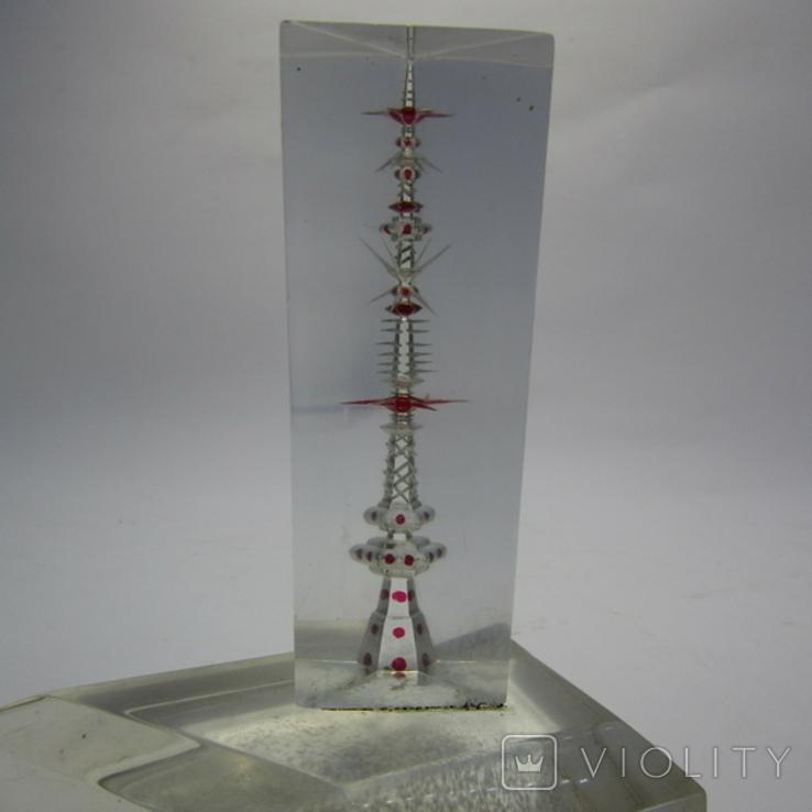 Настольный сувенир из оргстекла, фото №2