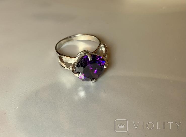Набор кольцо и серьги, фото №3