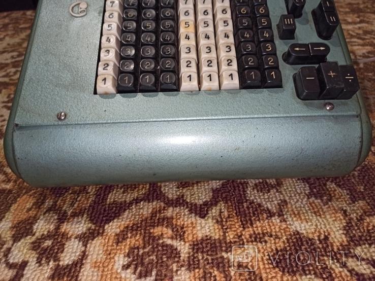 Электромеханический калькулятор ВМП-2, фото №9