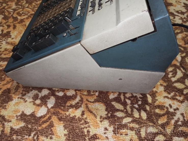 Электромеханический калькулятор Soemtron typ 214, фото №8