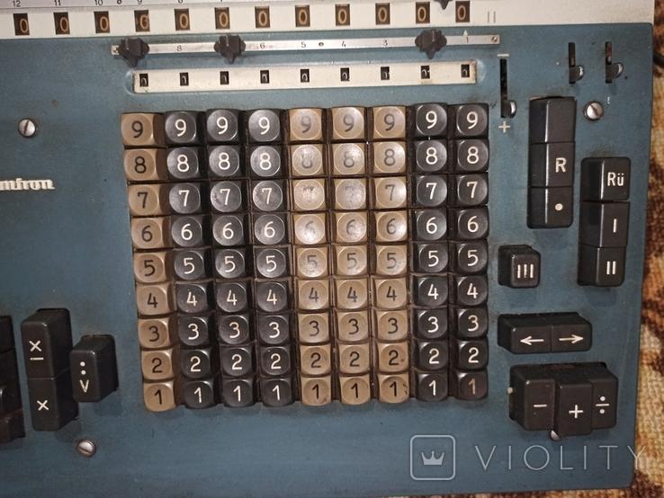 Электромеханический калькулятор Soemtron typ 214, фото №11