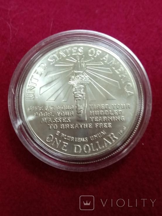 """Монета """"Доллар"""", 1986 г., фото №3"""