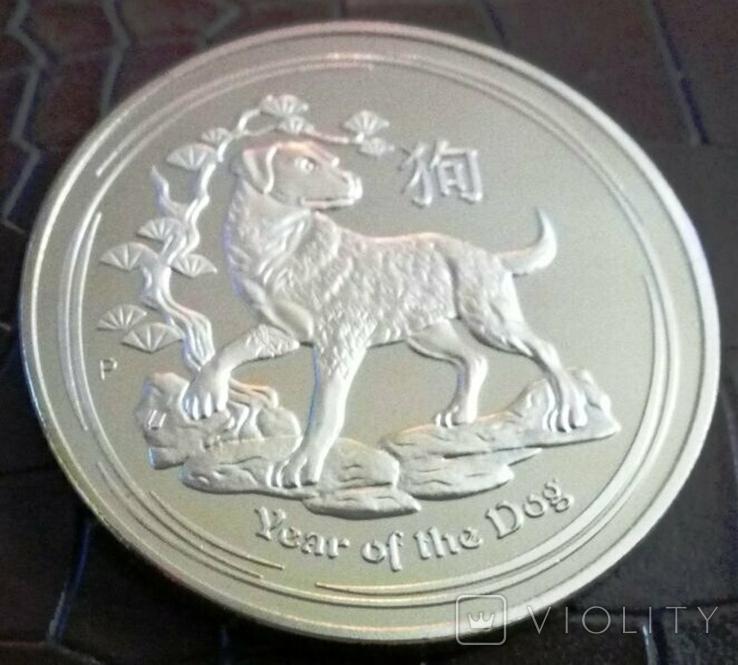 5 доларів Австралія  2018 року.  магнітний,   (позолота 999)  копія, фото №2