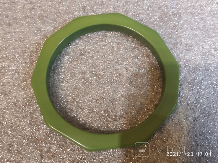 Граненый браслет пластик, фото №3