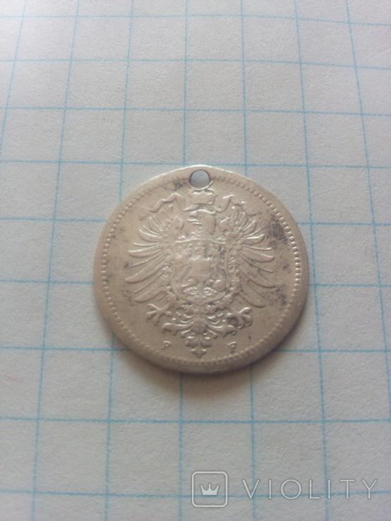 20 пфенінгів 1874 F Штутгарт, фото №4