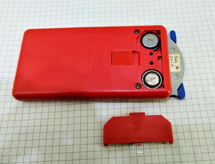 Детский микрокалькулятор Малыш в коробке. СССР, фото №9