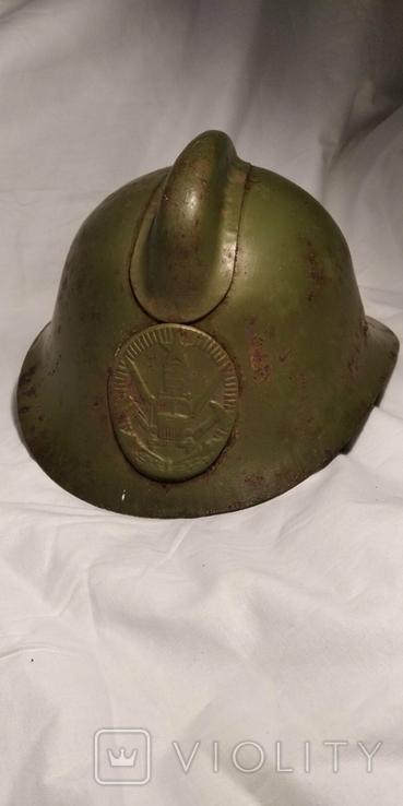 Каска, шлем пожарного СССР, модель М-103-61., фото №2