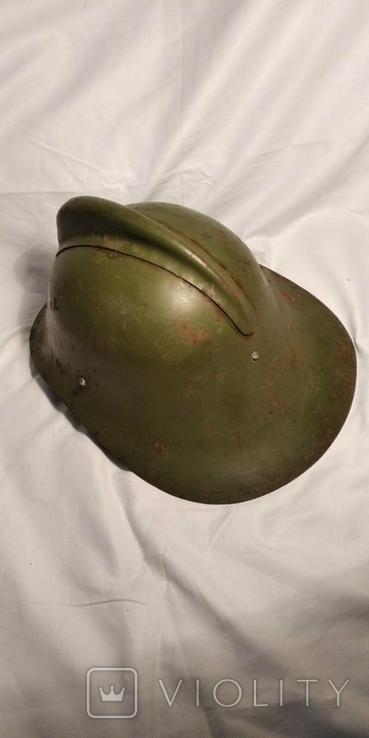 Каска, шлем пожарного СССР, модель М-103-61., фото №5