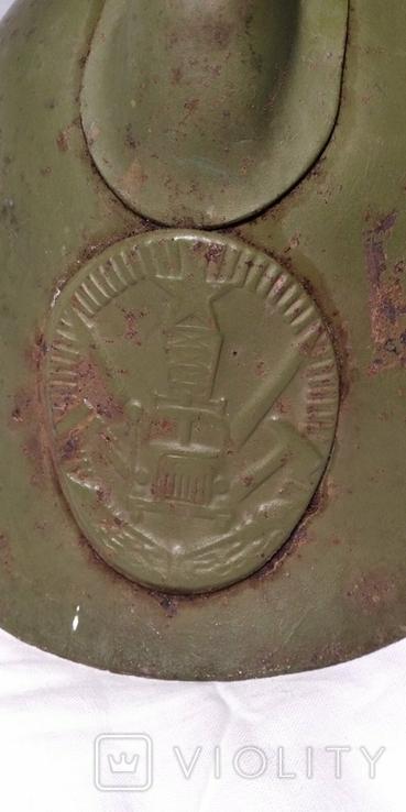Каска, шлем пожарного СССР, модель М-103-61., фото №13