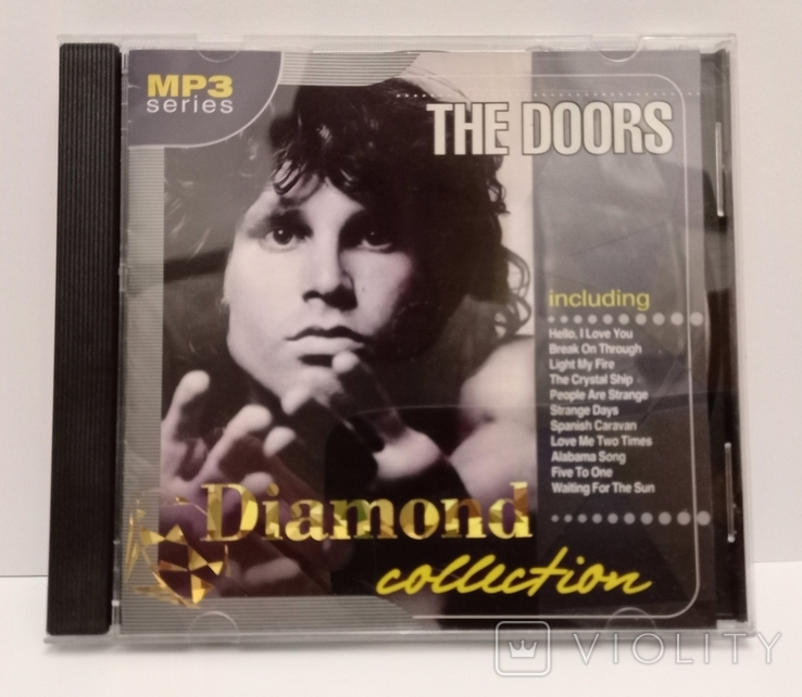The Doors. Daimond collection. MP3., фото №2
