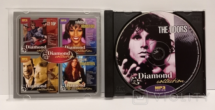 The Doors. Daimond collection. MP3., фото №4