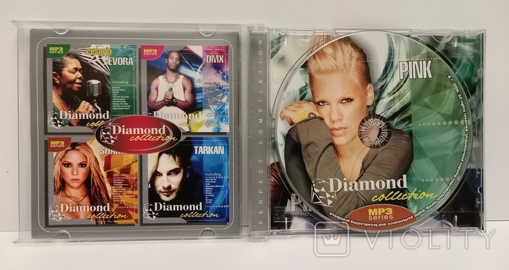 Pink. Daimond collection. MP3., фото №4