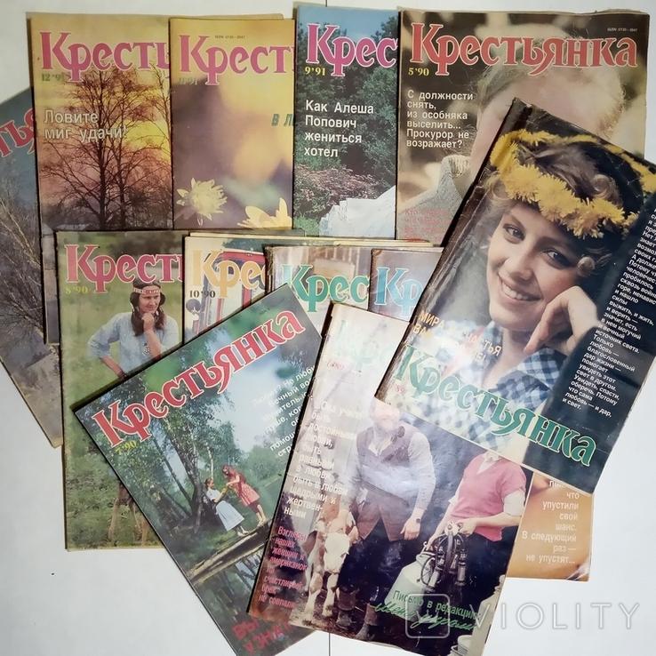 1985-1992 журнал КРЕСТЬЯНКА лот 45 шт., фото №5