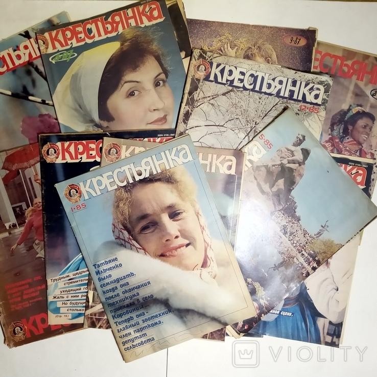 1985-1992 журнал КРЕСТЬЯНКА лот 45 шт., фото №7