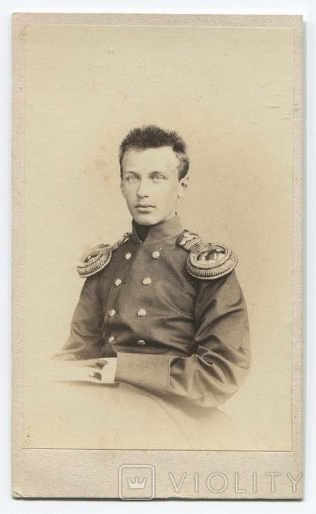 Поручик гвардейской кавалерии. Фото 1859-1869 гг. Фотография барона Клодта. СПб.