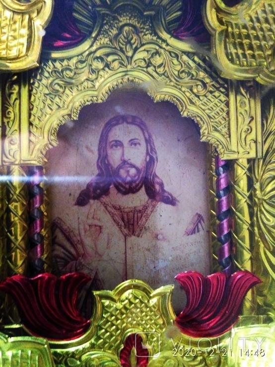 """2 Иконы в 1 лотеСв.хра.Николай"""",дерево,ручная работа,резьба и Св.Николая в рамке,освящены., фото №10"""