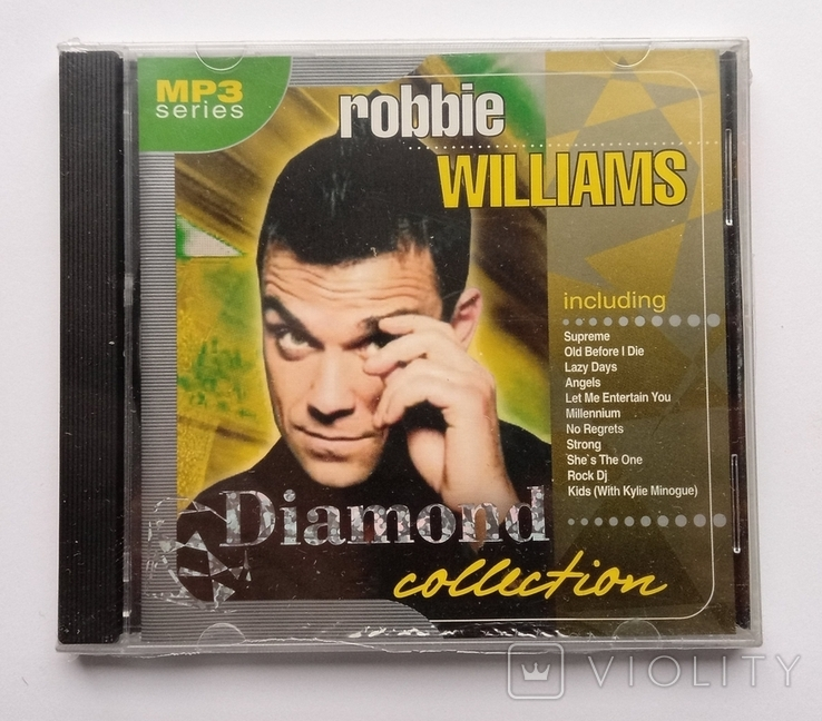Robbie Williams. Daimond collection. MP3., фото №2