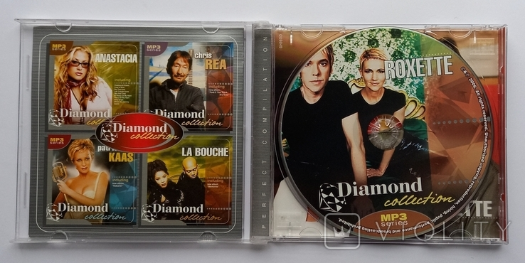 ROXETTE. Daimond collection. MP3., фото №4