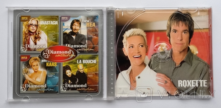 ROXETTE. Daimond collection. MP3., фото №5