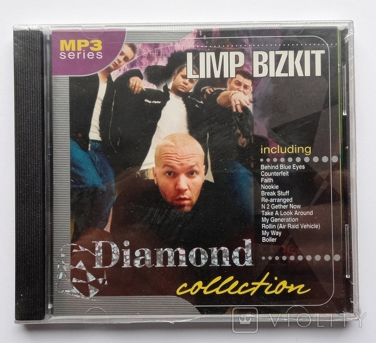 LIMP BIZKIT. Daimond collection. MP3., фото №2