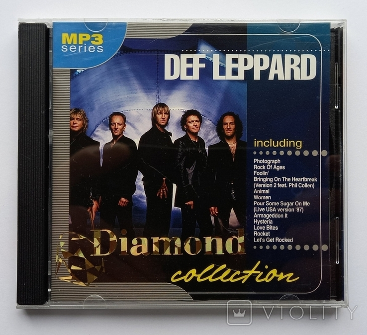 DEF LEPPARD. Daimond collection. MP3., фото №2