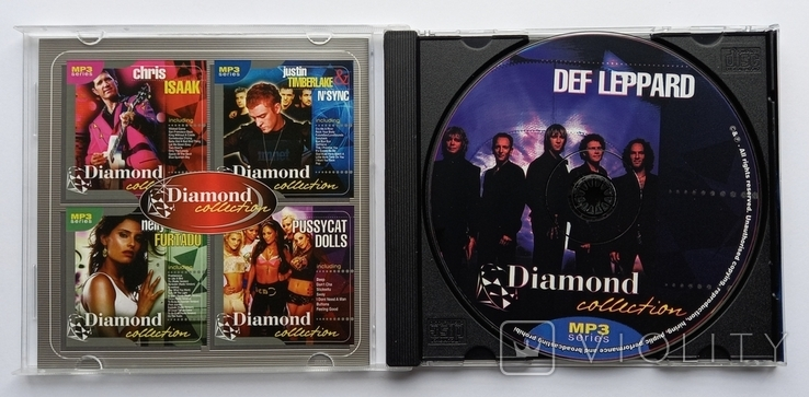 DEF LEPPARD. Daimond collection. MP3., фото №4