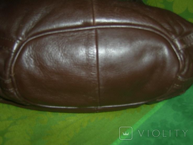 Сумка кожаная Hotter на плечо, фото №7